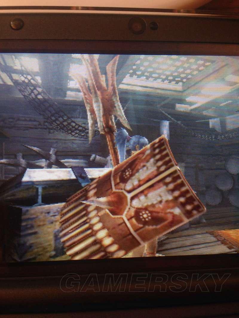 魔物獵人XX 老山龍武器屬性及外觀