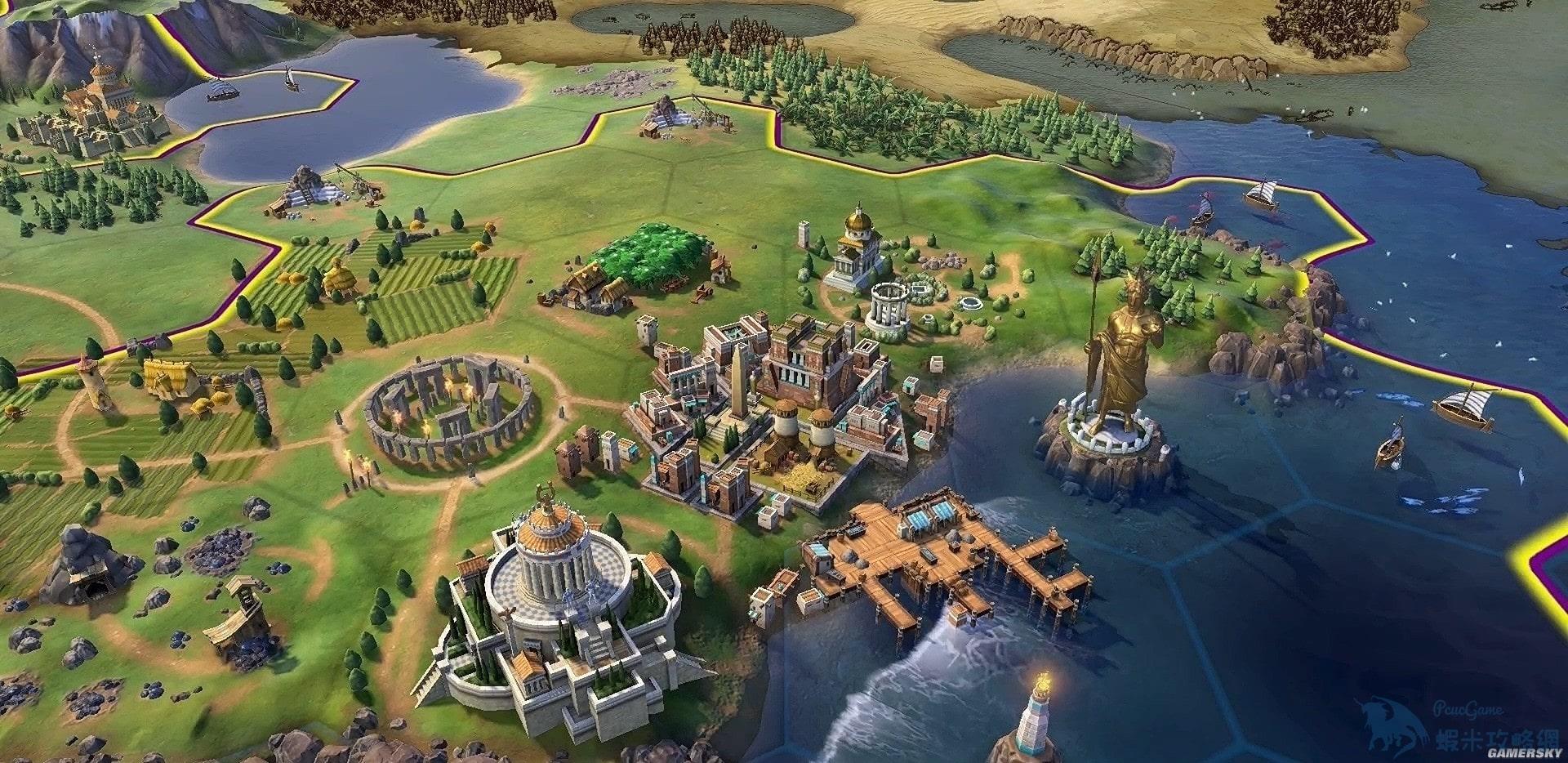 文明帝國 6 快速建造及增加人口技巧 怎麼快速建造