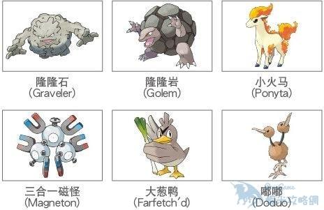 Pokemon GO 精靈種類大全 一共有多少種小精靈