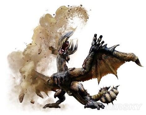 魔物獵人XX 鏖魔角龍剝取掉落物及弱點介紹