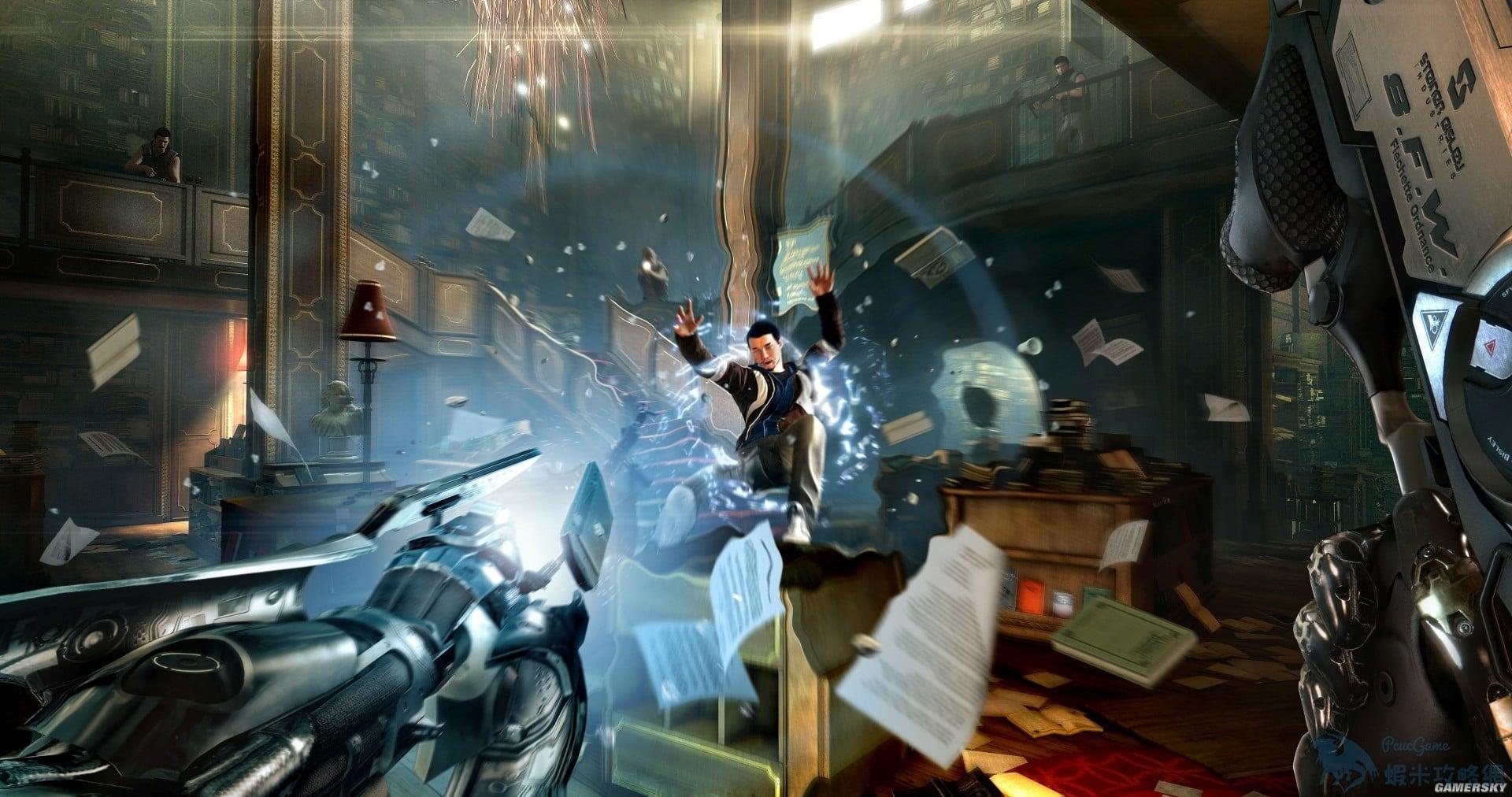 駭客入侵 系列劇情 系列劇情及遊戲特色介紹 Deus Ex: Mankind Divided
