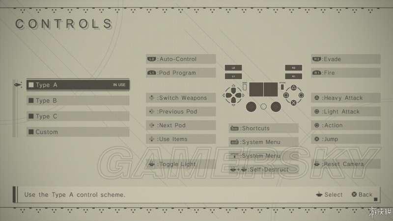 尼爾 自動人形 圖文攻略 全關卡流程與獎盃圖文攻略