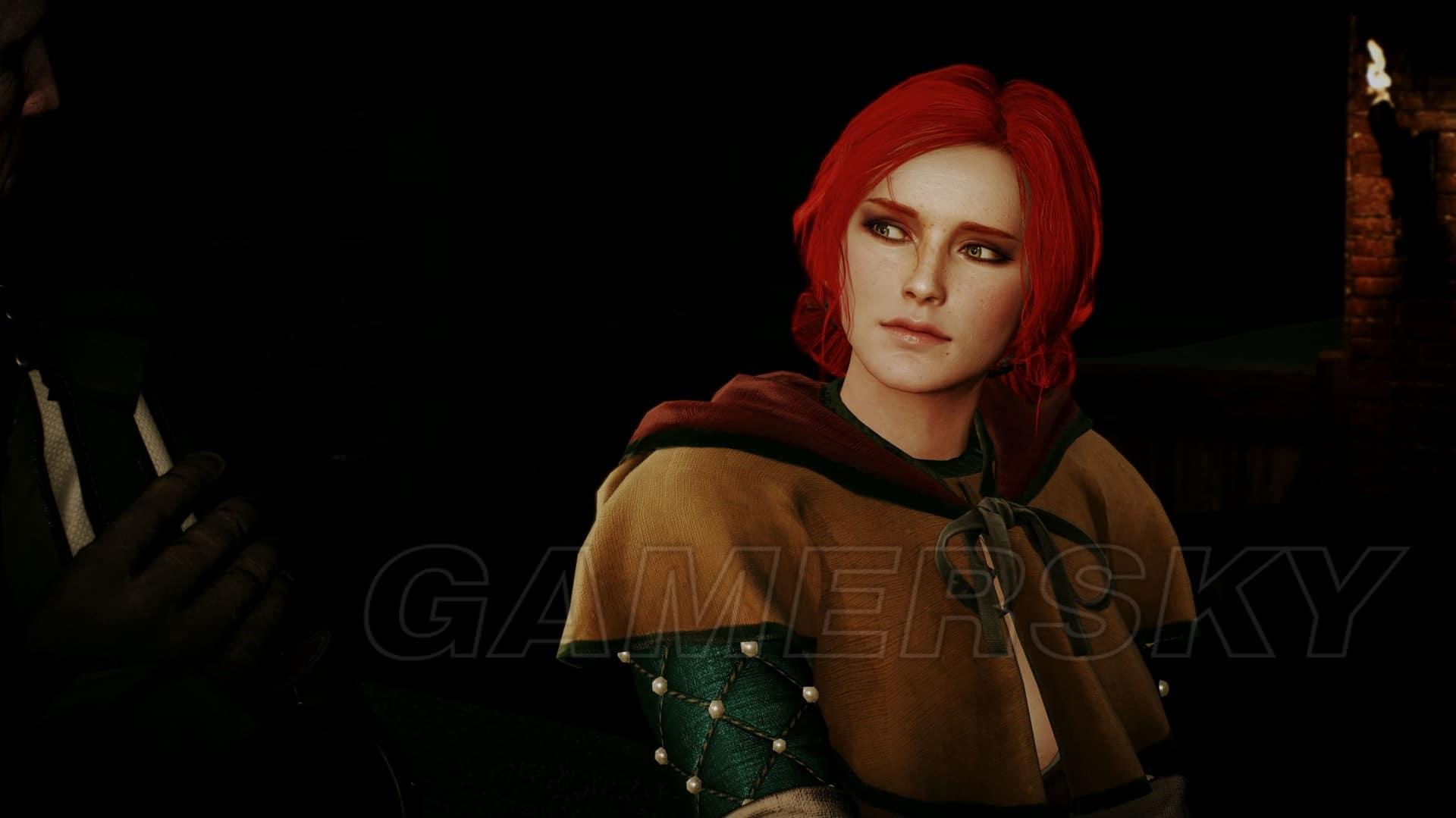 巫師3 世界中的女性角色