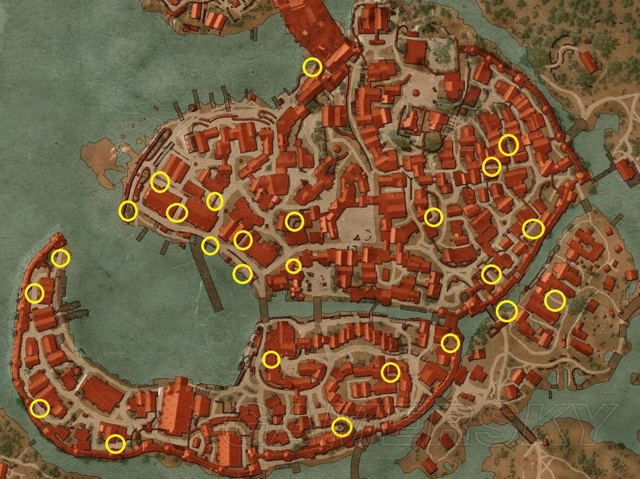 巫師3 諾維格瑞刷錢方法 諾維格瑞強盜營地位置介紹