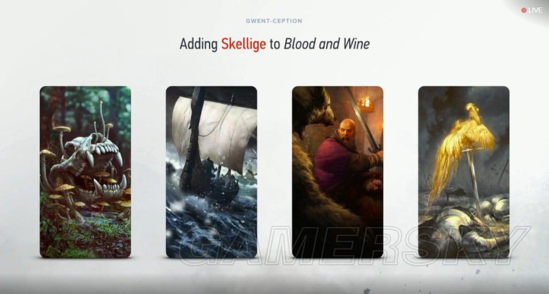 巫師3 血與酒昆特牌新勢力史凱利傑簡介