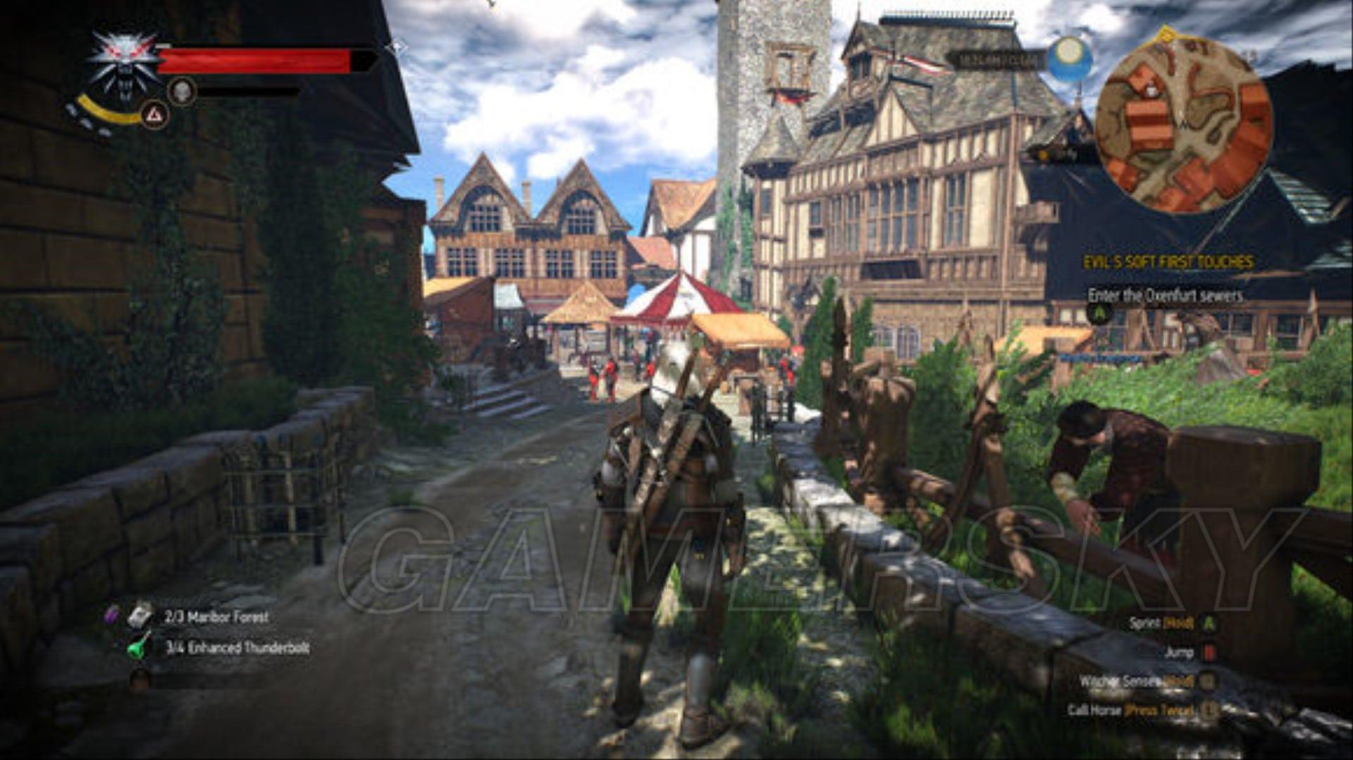 巫師3 4K畫質效果 巫師3 4K畫質什麼樣