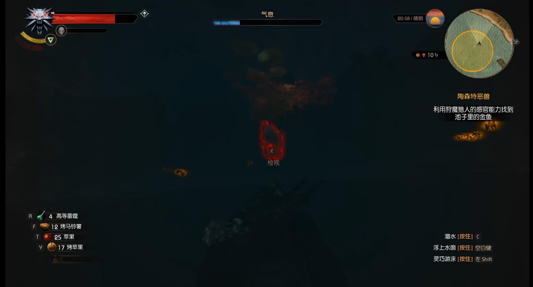 巫師3 血與酒金魚位置介紹 金魚在哪