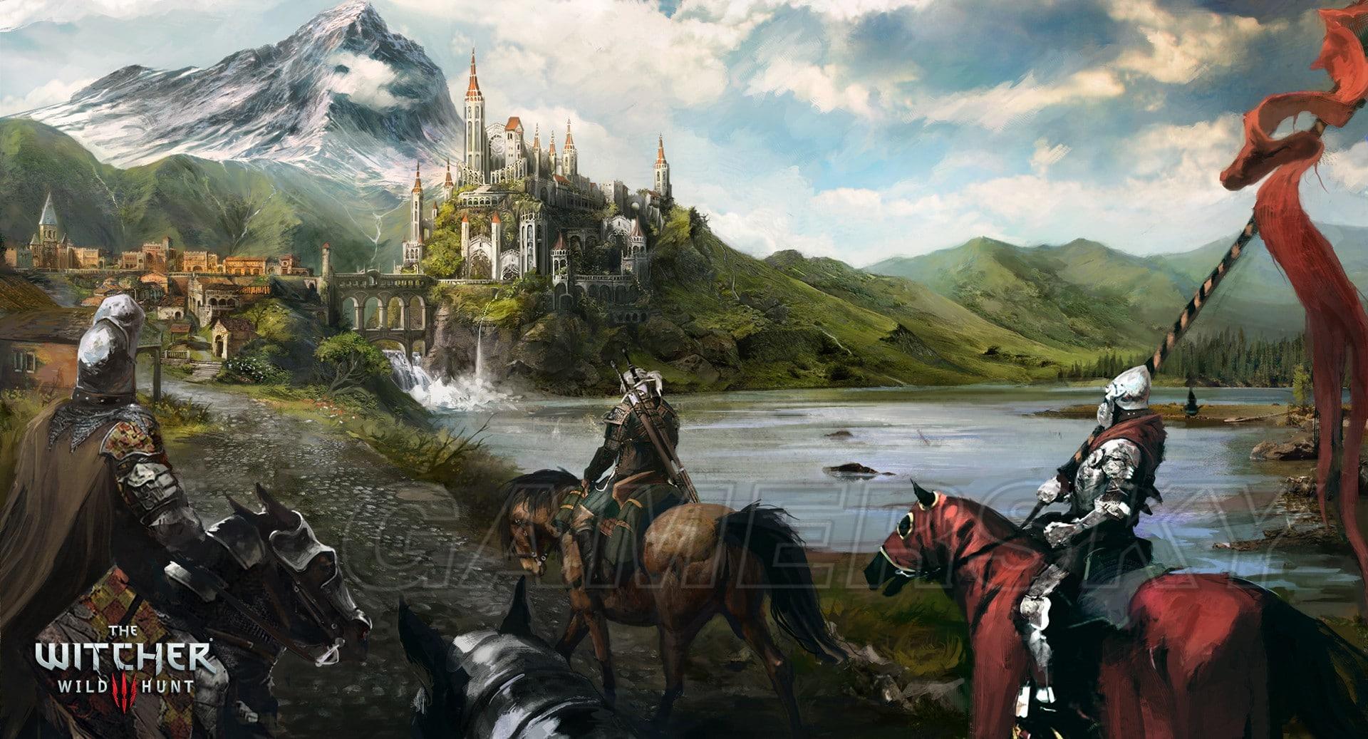 巫師3 steam版藝術圖集領取方法 附贈漫畫書