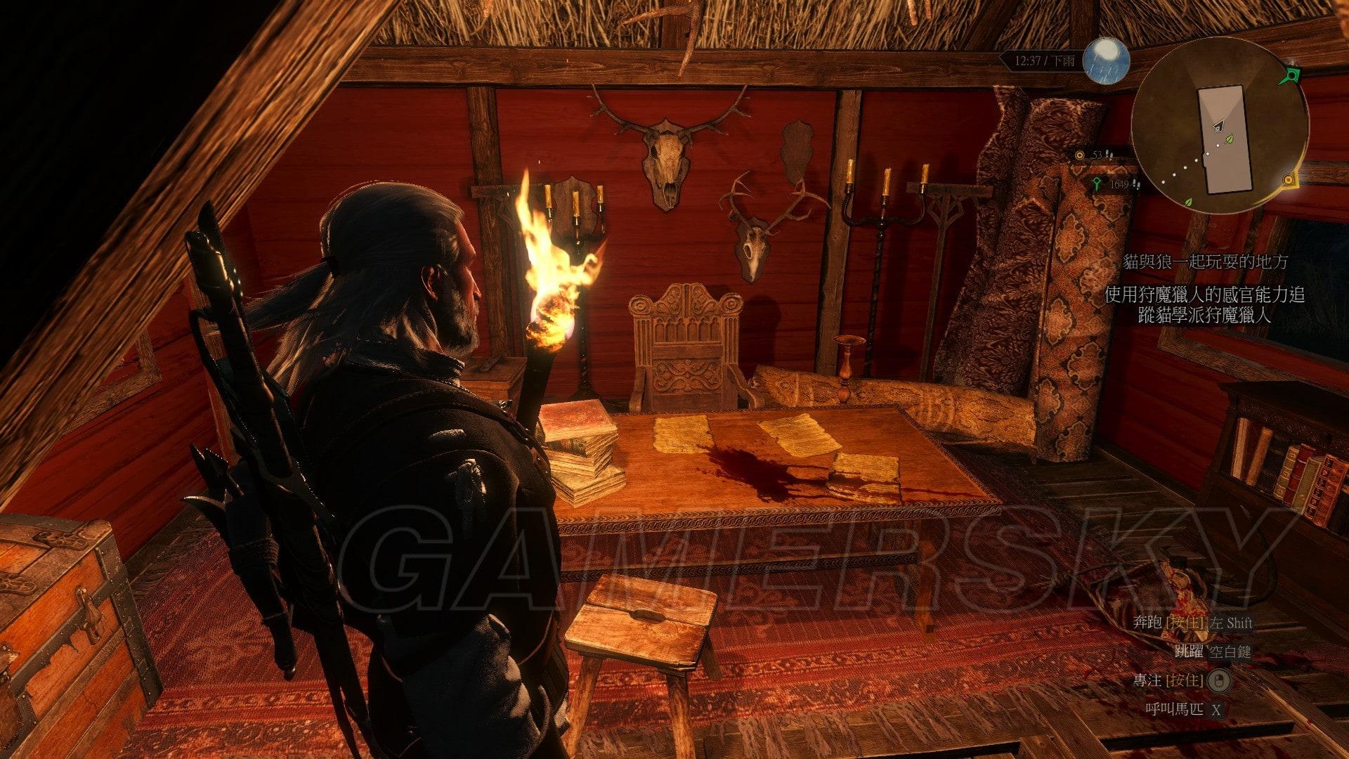 巫師3 貓與狼一起玩耍的地方真相分析