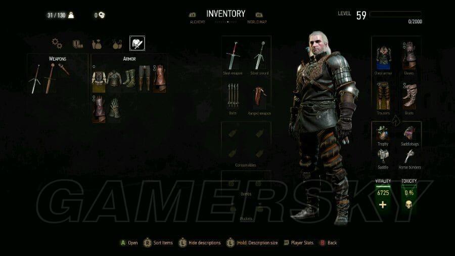 巫師3 血與酒DLC新舊界面對比圖
