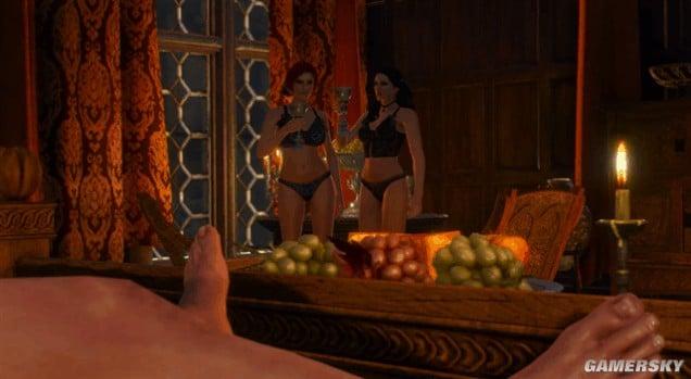 巫師3 全妹子啪啪啪場景圖文 巫師3推倒福利