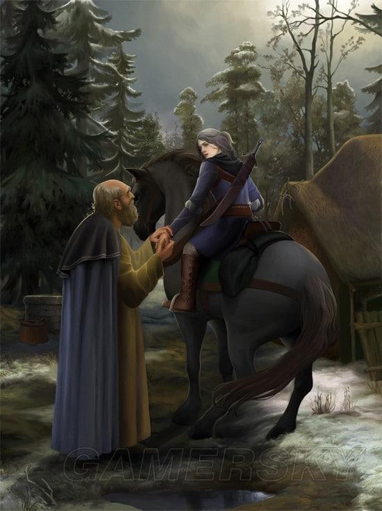 巫師3 希里背景故事介紹 自信的小公舉