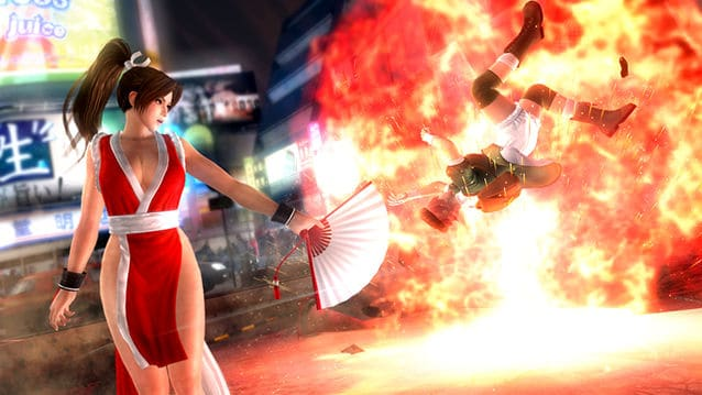 「不知火舞」將在《生死格鬥 5 Ultimate:Arcade》新版本場測登場 釋出連段影片《Dead or Alive 5 :Arcade》