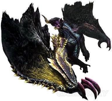 魔物獵人XX 黑蝕龍剝取掉落物及弱點介紹