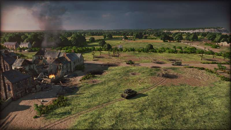 Steel Division: Normandy 44 摧毀模式盟軍攻略