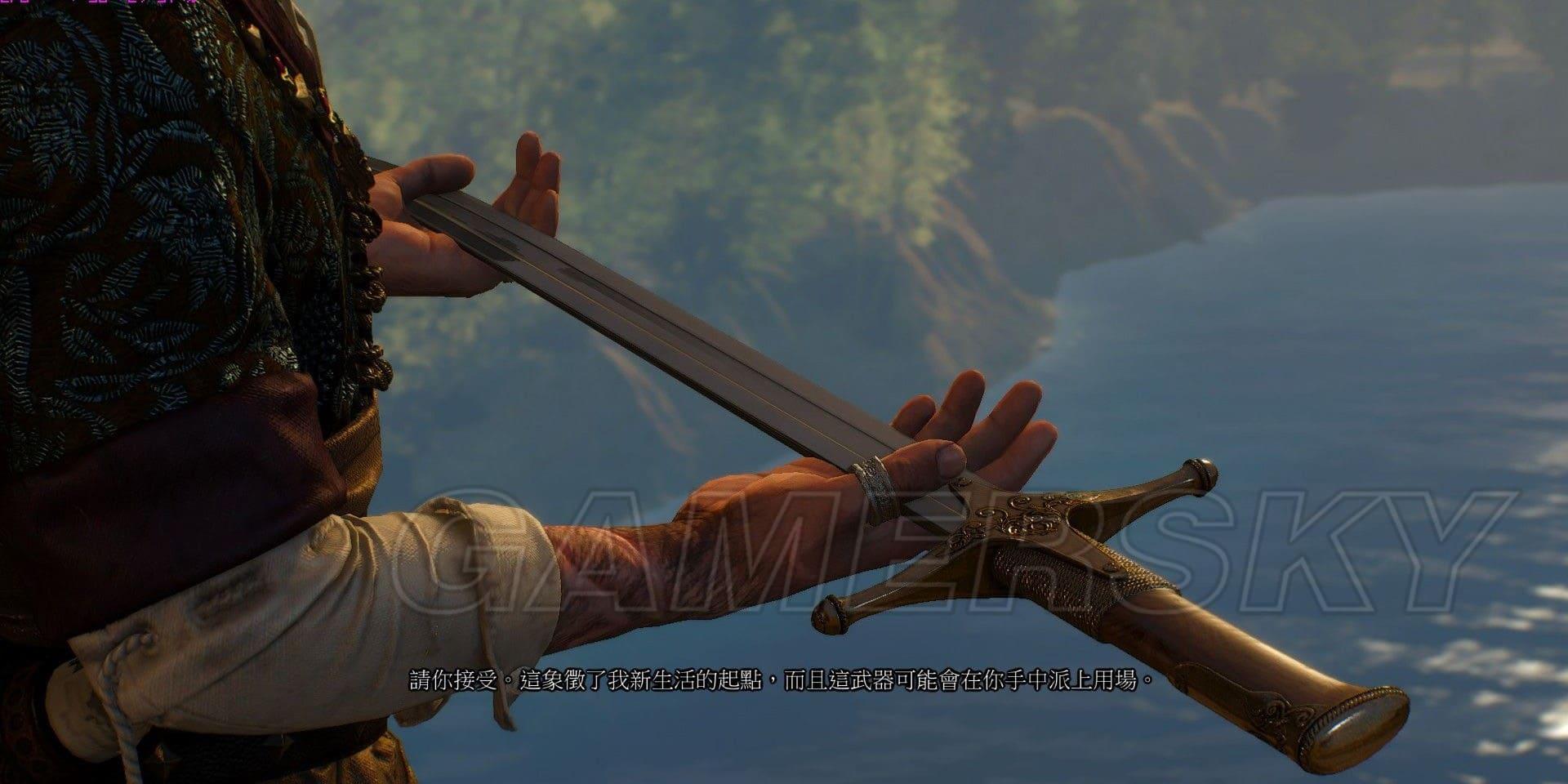巫師3 DLC石之心結局獎勵鋼劍屬性及獲得 巫師3DLC石之心結局獎勵有哪些