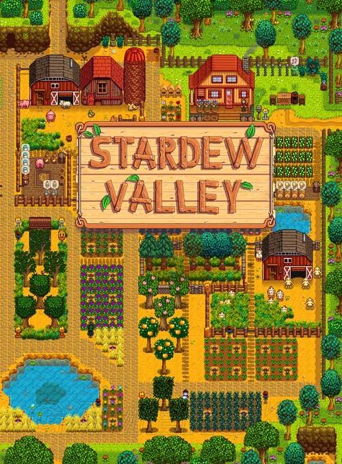 Stardew Valley 農場布局圖大全 各式農場布局圖分享