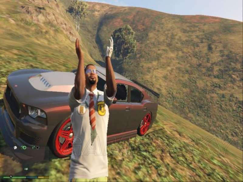 GTA5 車輛與人物自拍玩法 GTA5人物自拍