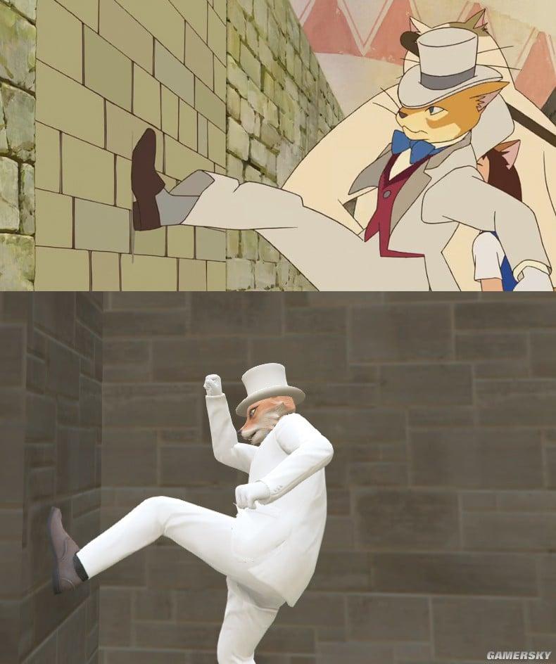 GTA5 宮崎駿動畫貓男爵COS套裝圖鑑 貓男爵COSPLAY