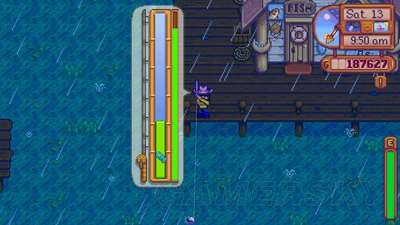 Stardew Valley 釣金星魚傳說魚技巧圖文攻略 釣魚攻略