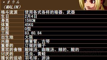 拳皇 系列人物資料大全 拳皇系列人物背景資料圖鑑