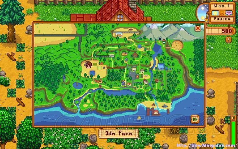 Stardew Valley 圖文攻略 農場上手教學及系統分析