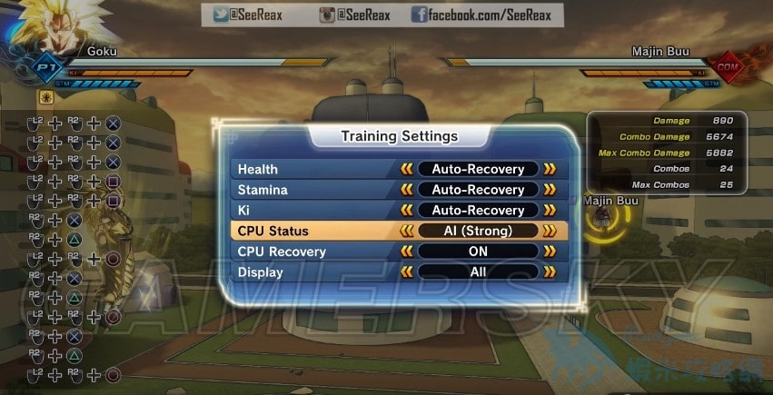 七龍珠 異戰2 練習模式圖文介紹 練習模式怎麼玩