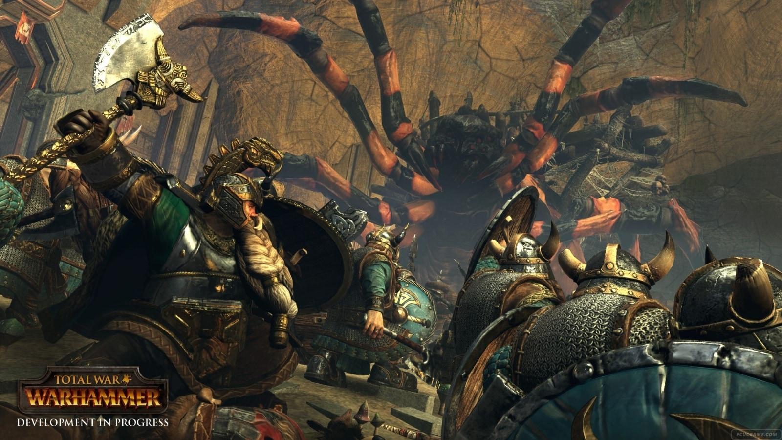全軍破敵:戰鎚 矮人玩法及畫面設定心得