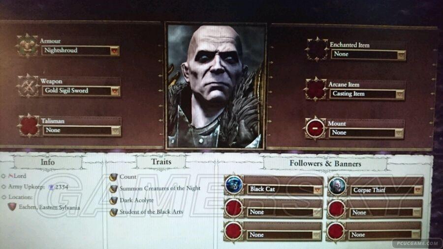 全軍破敵:戰鎚 吸血鬼領主科技及將領玩法心得
