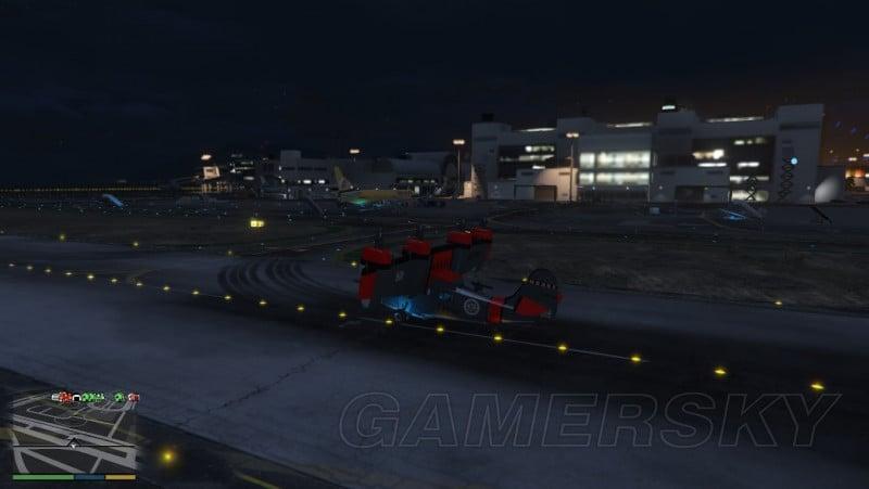 GTA5 走私大暴走DLC巨像圖拉飛機介紹