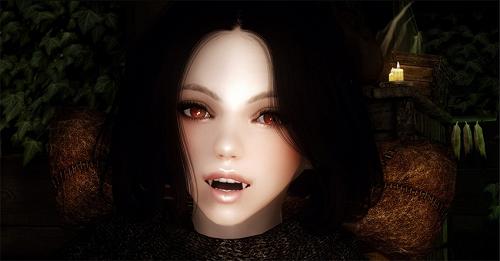上古捲軸5 吸血鬼隨從萌妹子米娜哈克美化MOD 補丁下載