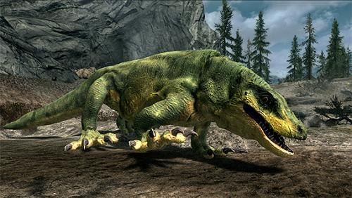 上古捲軸5 古巨蜥生物MOD 補丁下載