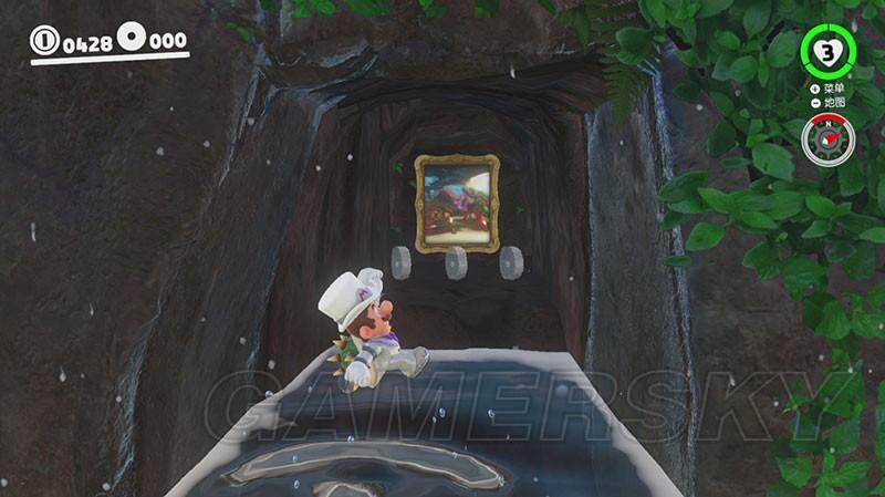 超級瑪利歐奧德賽 傳送畫框在哪 全10個傳送畫框位置