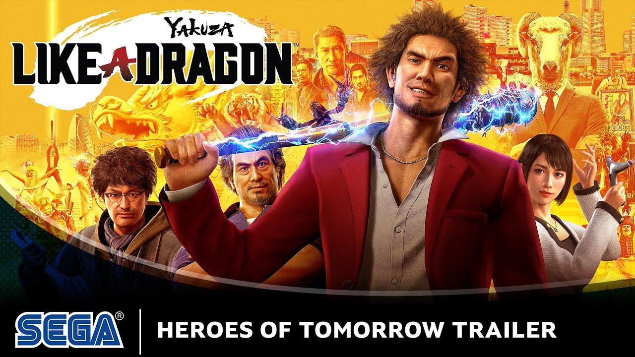 Yakuza: Like a Dragon Trailer