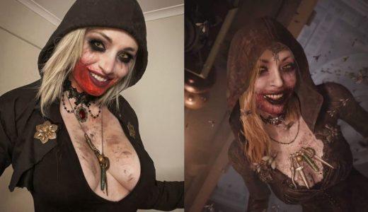 澳洲美女分享《惡靈古堡8:村莊》城主夫人女兒 Cosplay,推特上爆紅轉發破萬