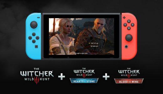 Nintendo Switch《巫師3:狂獵》拆為本體+DLC分別販賣,未來完整版將下架任天堂eShop