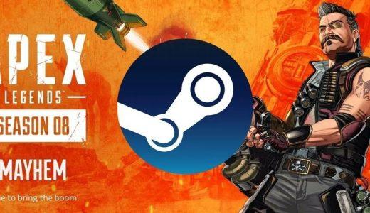 《Apex 英雄》第八賽季Steam玩家人數創新高,接近20萬人同時在線