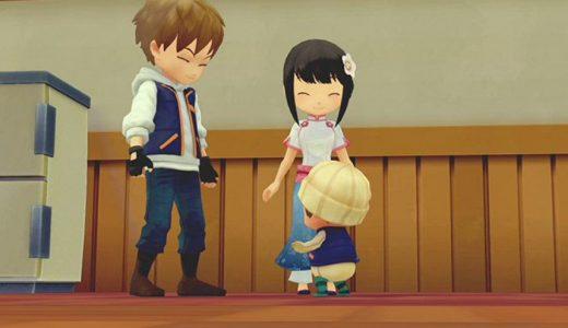 玩家可在《牧場物語:橄欖鎮與希望的大地》中與NPC離婚,但離婚後小孩將原地消失