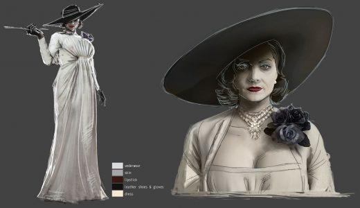 IGN分享《惡靈古堡8:村莊》設定圖,高挑貴婦夫人和三位愛女登場