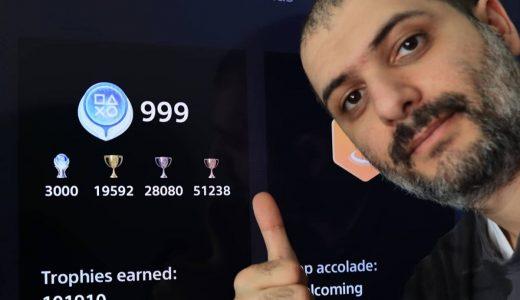 「白金肝帝」Hakoom PS白金獎杯數量已達3000個,國外玩家膜拜直呼傳奇!
