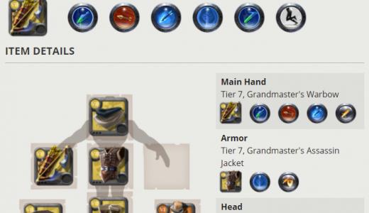 Albion Online 角色 build 模擬器