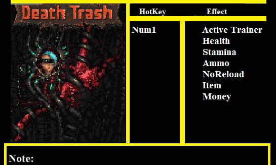 Death Trash 修改器