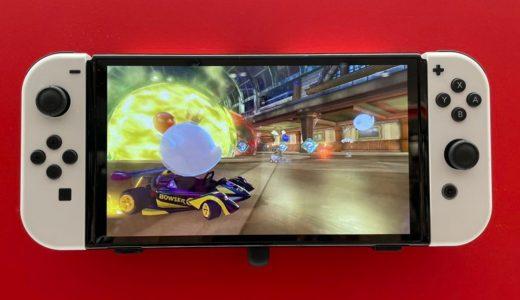 Nintendo Switch OLED版造型實拍 更窄邊框、黑白配色超美