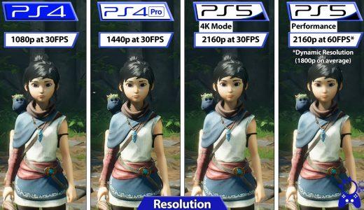 《奇納:靈魂之橋》PS平台對比,本世代版遊戲的優化也十分出色