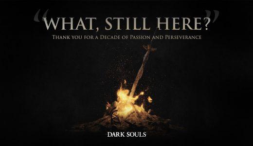 《黑暗靈魂》官方放出十周年賀圖 感謝你十年的熱情和毅力