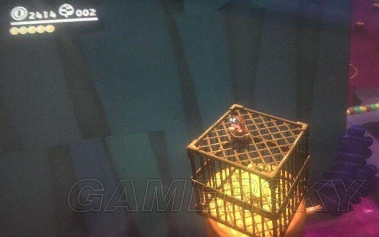超級瑪利歐奧德賽 失落之國籠子里月亮獲得方法
